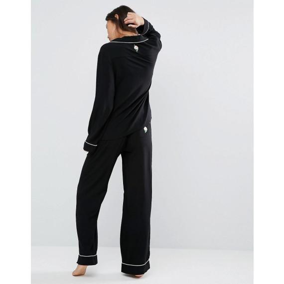 Goodnight - Ensemble pyjama - Noir