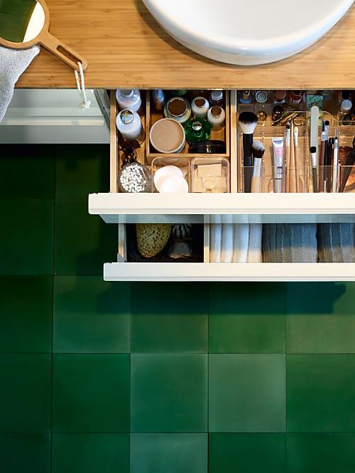10 praktische ikea hacks f r dein badezimmer stylight - Ikea badezimmer waschbeckenunterschrank ...