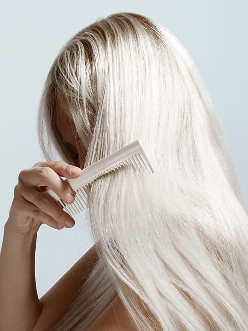 Haare brechen ab beim kammen