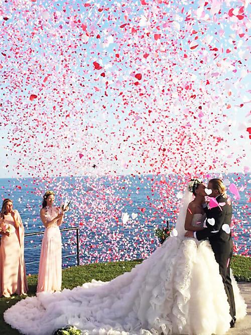 Über diese Promi Brautkleider spricht das Netz | Stylight