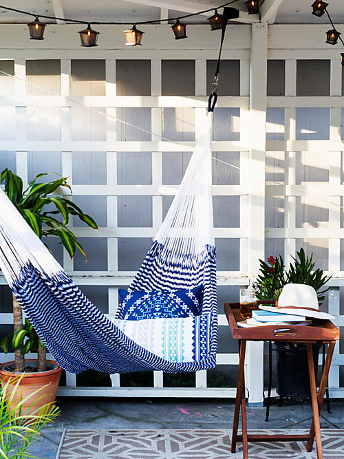 abh ngen 5 gute gr nde f r eine h ngematte zuhause stylight. Black Bedroom Furniture Sets. Home Design Ideas
