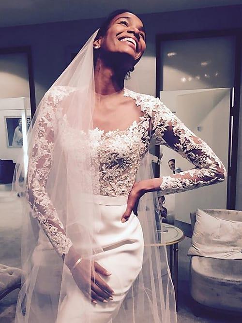 Hochzeitstrend: Brautkleider bekommen jetzt lange Ärmel | Stylight