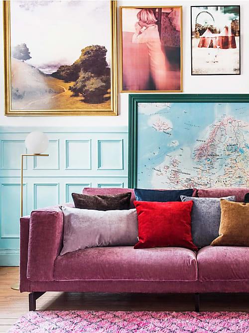 come decorare la parete dietro al divano 10 idee stylight