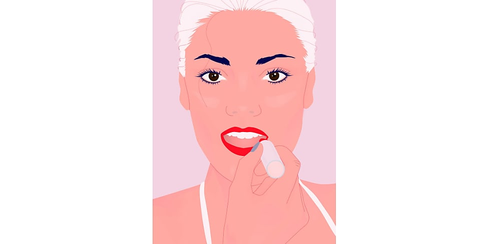 lippenstift richtig auftragen 5 experten tipps mit anleitung stylight. Black Bedroom Furniture Sets. Home Design Ideas