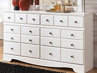 Ashley Furniture Weeki Dresser, White