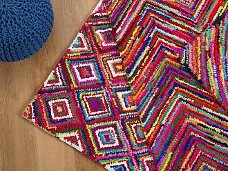 Bunt gestreifter teppich neuwertig von ikea zu verkaufen