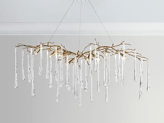 Chandeliers by john richard now shop at usd 47200 stylight john richard brass glass teardrop chandelier mozeypictures Image collections