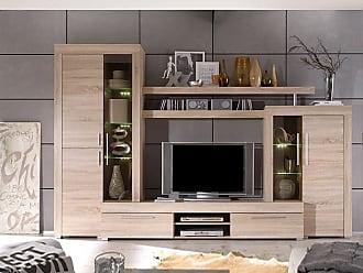 Trends Wohnwand Konzept : Fernseh wohnwand. simple vcm tv schrank lowboard tisch board