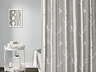 Triangle Home Fashions Lush Decor Bird On The Tree Shower Curtain 72 X
