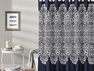 Triangle Home Fashions Lush Decor Boho Medallion Shower Curtain 72 X