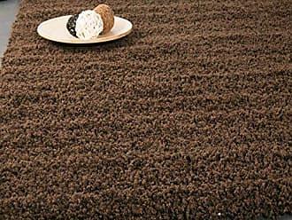 Vimoda Prime Shaggy Teppich Farbe Braun Hochflor Langflor Teppiche Modern Fr Wohnzimmer Schlafzimmer