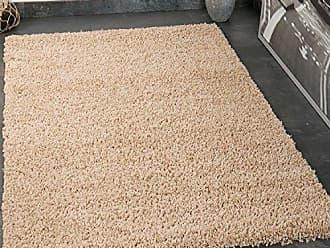 Vimoda Prime Shaggy Teppich In Beige Hochflor Langflor Teppiche Modern Fr Wohnzimmer Schlafzimmer Einfarbig