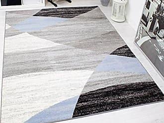 Teppich blau wei gestreift trendy cancun streifen grn with