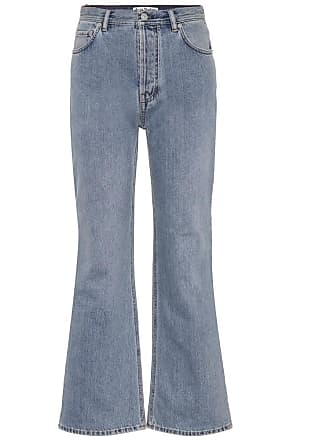 Flared Jeans Taughty aus Baumwolle Acne Studios
