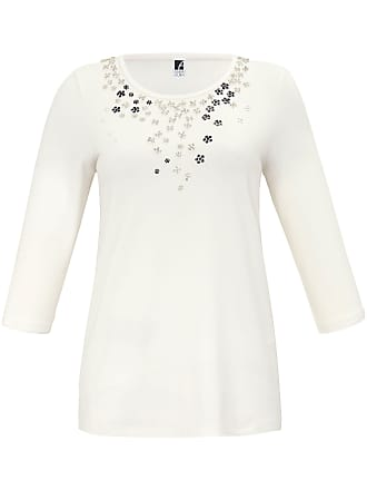 Große Größen - Rundhals-Shirt mit 3/4-Arm Anna Aura