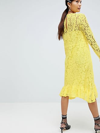 Dress for Women, Evening Cocktail Party On Sale, Yellow, viscosa, 2017, XXS (IT 36) Essentiel