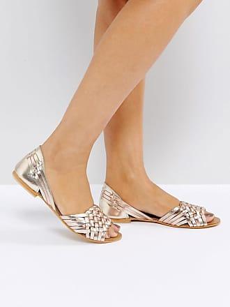 Frauen Dünne Schuhe High-Höhe und Spitz Cognac Arbeit Schuhe, Silber, 34