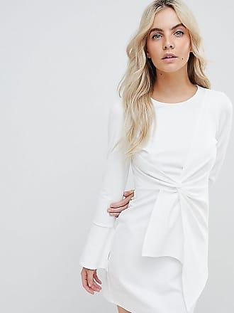 Summer dress Tyene white Tigha WQ5DIQnBK