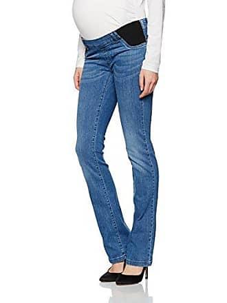 Maternity Damen Umstandsjeans Jeans Bootcut mit Elastischen Tasch Bellybutton