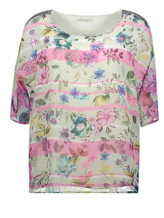 Bluse, für Frauen, Khaki / Rosa, L: 64cm, Ausgestellt Stil, 3/4 Arm Betty Barclay