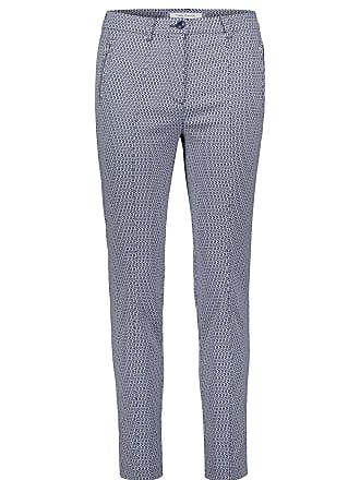 Hose, für Frauen, Dunkelblau / Weiß, Schrittlänge: 72 cm, Eingriffstaschen Stil, Reißverschluss Betty Barclay