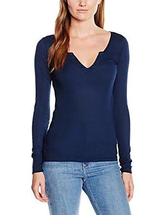Fabia, T-Shirt Manches Longues Femme, Bleu (Brilliant Blue 8600), 42 (Taille du Fabricant:Large)Blaumax