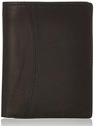 Wallet, Unisex Adults Schwarz (Black), 2x11x12 cm (wxhxd) Bodenschatz