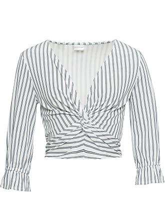 453a1703 Knot Shirt av Bonprix i Hvit Bodyflirt 4 3 Arm rrBpFw