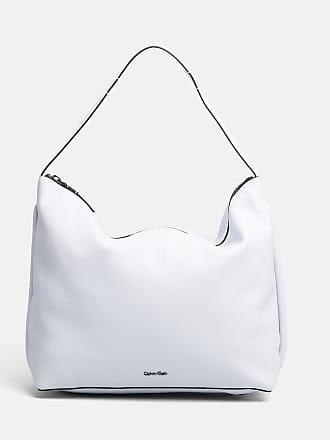 DAMEN TASCHE EDGE HOBO K60K603999 uni weiss Calvin Klein W6Gx5