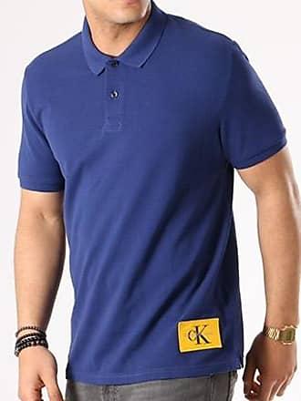 Calvin Klein - Polo Manches Courtes Pice 2 True Icon 6404 Bleu Marine tqzTXQWhsH