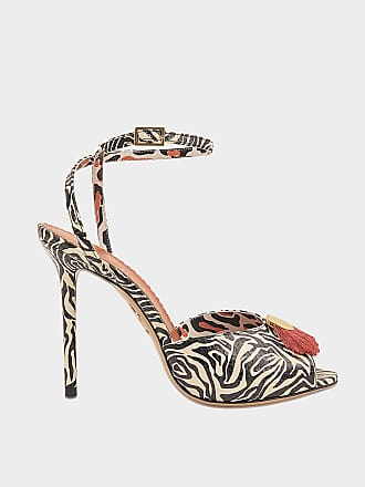 Chaussures plates léopard façon poulain KittyCharlotte Olympia ppHT0u