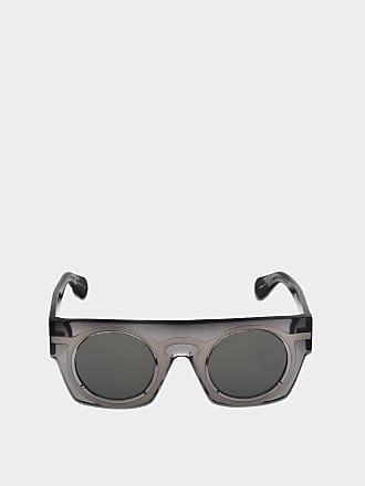 Christopher Kane Sonnenbrille mit Spiegel Linsen aus goldenem Metall EuYK2xBEZt