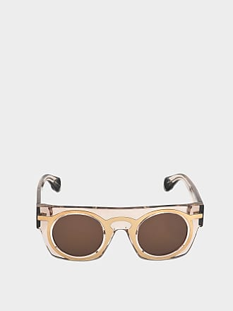 Christopher Kane Sonnenbrille mit Spiegel Linsen aus violettem Acetat Acetat 3Dsjjjy