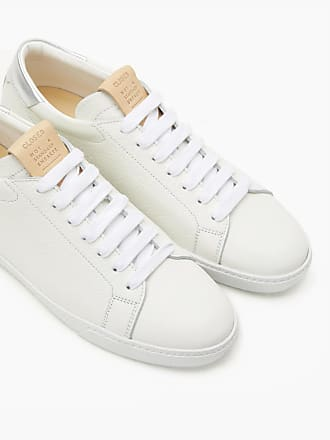 CLOSED Leder Sneaker sea blue E7MbXD9q