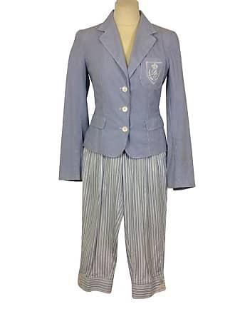 gebraucht - Hosenanzug - DE 34 - Damen - Blau - Baumwolle Dolce & Gabbana