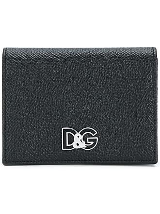 Porte-monnaie Pour Les Femmes En Vente, Cuir Dauphinoise Zip Autour, Noir, Cuir De Veau, 2017, Taille Dolce & Gabbana