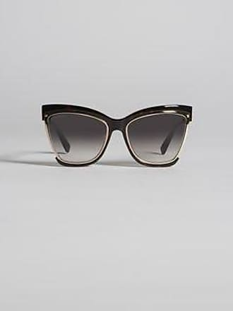 Dsquared2 Herren Sonnenbrille Rectangle Eye, Schwarz (Nero), 59