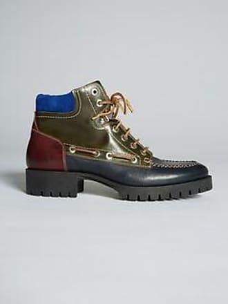 3 Cm Style Masculin Chaussures En Cuir Lacé Printemps / Été Dsquared2 PE9DH7P