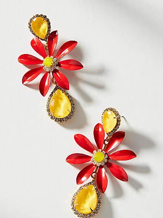 Elizabeth Cole Bryant Flora Drop Earrings 5iZMgM