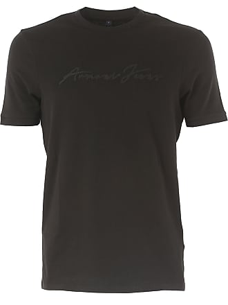 T-Shirt for Men On Sale, Red, polyester, 2017, L M S XXL Emporio Armani
