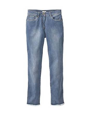 5-Pocket Fransen-Jeans aus Bio Baumwolle, lightblue Enna