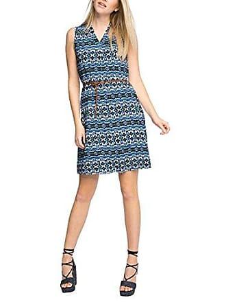 Damen Kleid 056EO1E003-mit Gürtel Esprit