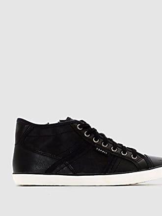 Esprit Trend-Sneaker mit Leo-Muster für Damen, Größe 37, Black