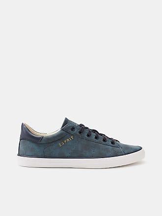 Chaussures De Sport En Cuir Bleu Foncé Bas (36,37,38,39,40,41,42)