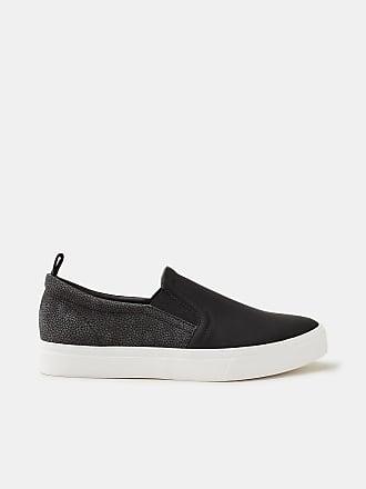 Esprit Slip On-Sneaker in Leder-Optik für Damen, Größe 36, Black