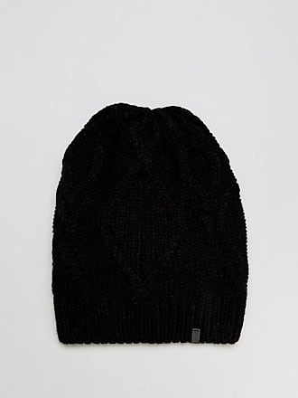 Slouchy Cable Knit Beanie In Black - 001 black Esprit wDZc3QPLmG