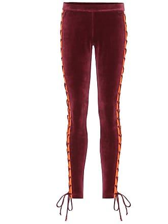 Hose aus Stretch-Velours mit Schnürung Fenty Puma by Rihanna