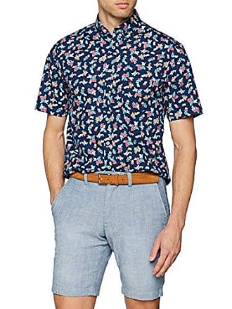The Maritime Story, B.D, 1/2, Camisa Casual para Hombre, Multicolor (Flower Print 6251), M Fynch-Hatton
