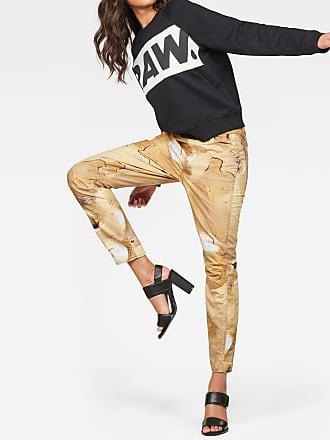 Elwood 5622 3D Mid waist Boyfriend Color Jeans G-Star