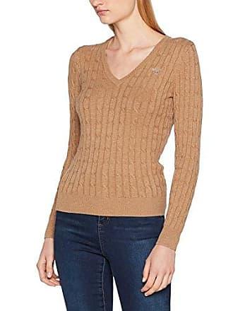Damen Pullover Stretch Cotton V-Neck Sweater GANT